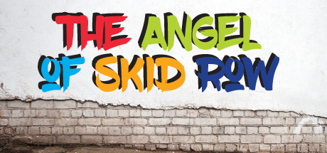 "Image ""The Angel of Skid Row"" Colorful Lettering"
