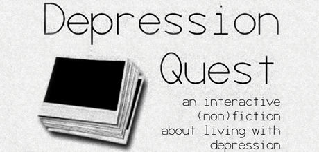 Banner Image Containing the Words Depression Quest