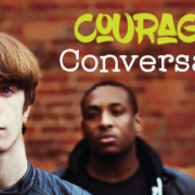 """Banner Image for Feature Article """"Courageous Conversations"""""""
