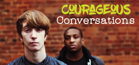 "Banner Image for Feature Article ""Courageous Conversations"""